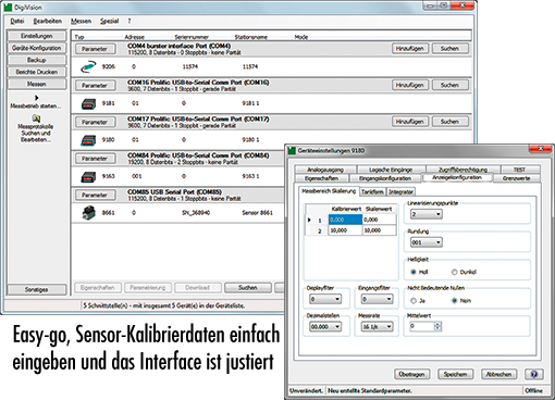 digivision pc messdaten erfassung software for acquisition measuring data